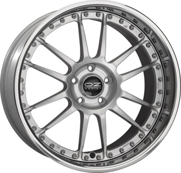 SUPERLEGGERA III RACE SILVER Wheel 9x18 - 18 inch 5x114.3 bold circle