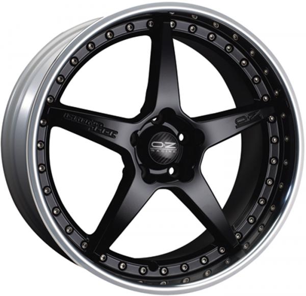 CRONO III MATT BLACK Wheel 9x19 - 19 inch 5x120 bold circle