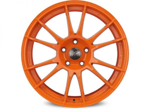 OZ ULTRALEGGERA HLT orange Felge 9,5x19 - 19 Zoll 5x120 Lochkreis