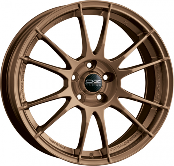 ULTRALEGGERA MATT BRONZE Wheel 8x18 - 18 inch 5x114.3 bold circle