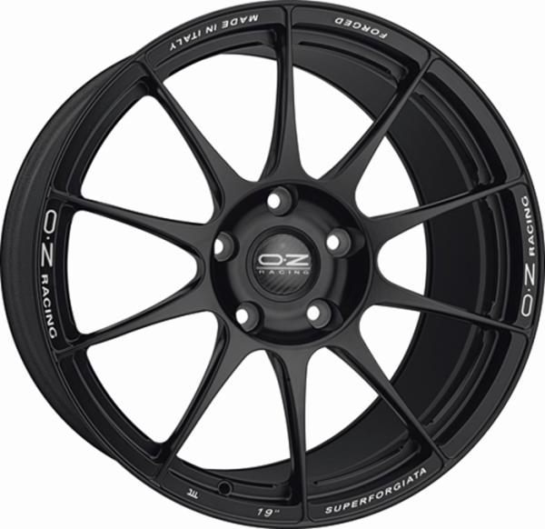 SUPERFORGIATA MATT BLACK Wheel 11x19 - 19 inch 5x114.3 bold circle