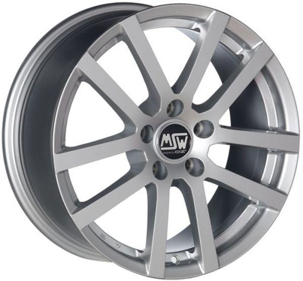 MSW 22 FULL SILVER Wheel 8x17 - 17 inch 5x108 bold circle