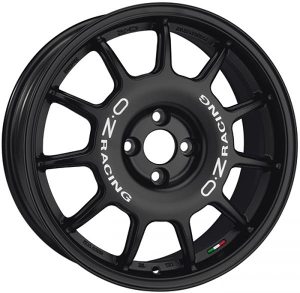 LEGGENDA MATT BLACK Wheel 7x17 - 17 inch 4x108 bold circle