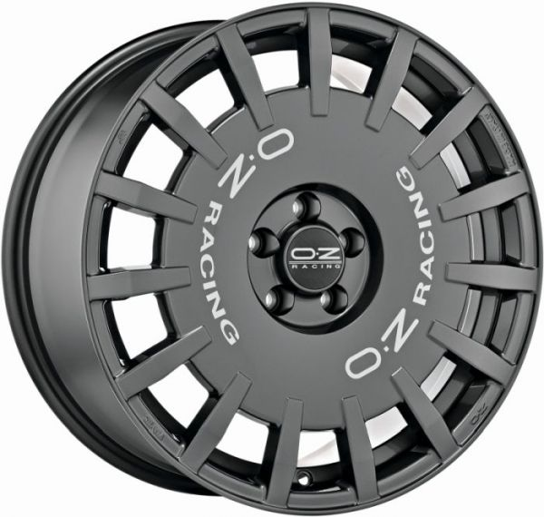RALLY RACING DARK GRAPH. S. LETT. Wheel 8x18 - 18 inch 5x112 bold circle