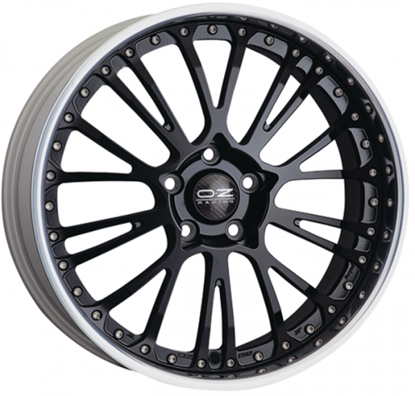 BOTTICELLI III MATT BLACK Wheel 8.5x21 - 21 inch 5x120 bold circle