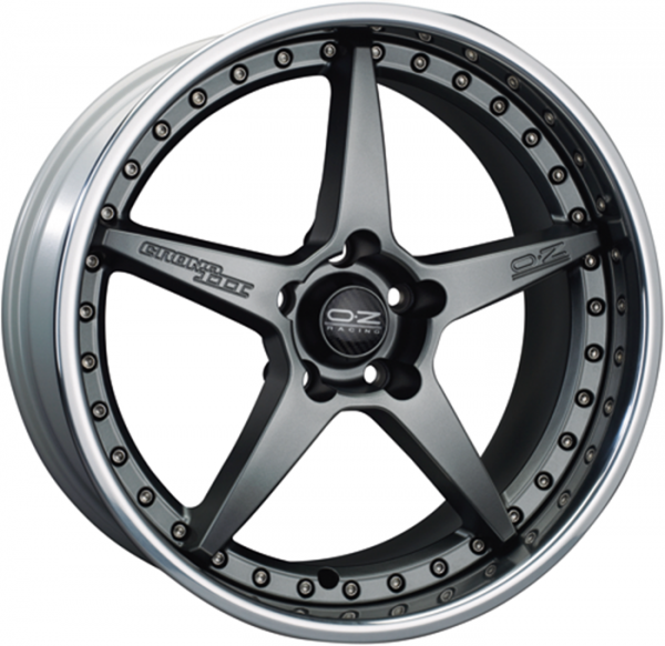 CRONO III MATT GRAPHITE Wheel 9x19 - 19 inch 5x112 bold circle