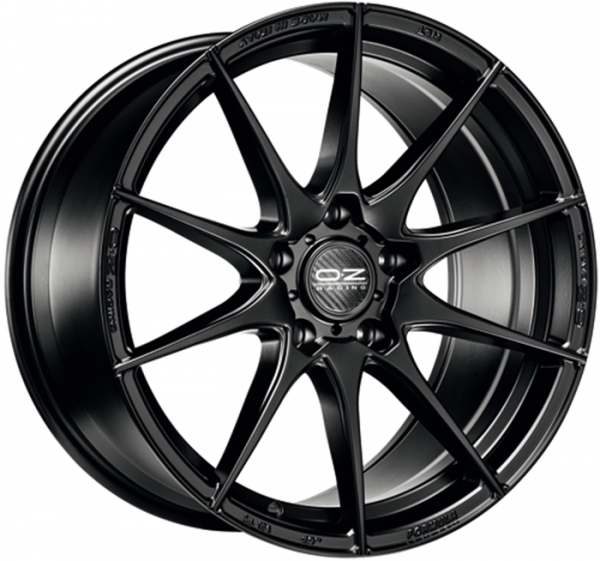 FORMULA HLT MATT BLACK Wheel 7.5x18 - 18 inch 5x100 bold circle