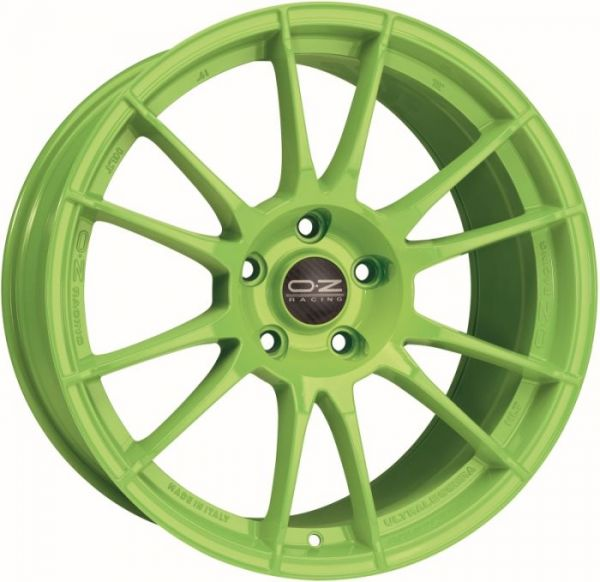OZ ULTRALEGGERA HLT ACID grün Felge 9,5x19 - 19 Zoll 5x120 Lochkreis