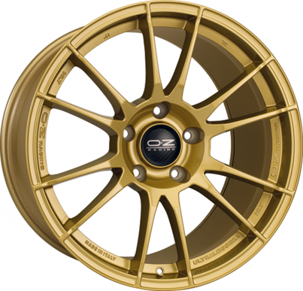 ULTRALEGGERA HLT RACE GOLD Wheel 8.5x19 - 19 inch 5x108 bold circle
