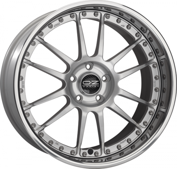 SUPERLEGGERA III RACE SILVER Wheel 9.5x19 - 19 inch 5x100 bold circle