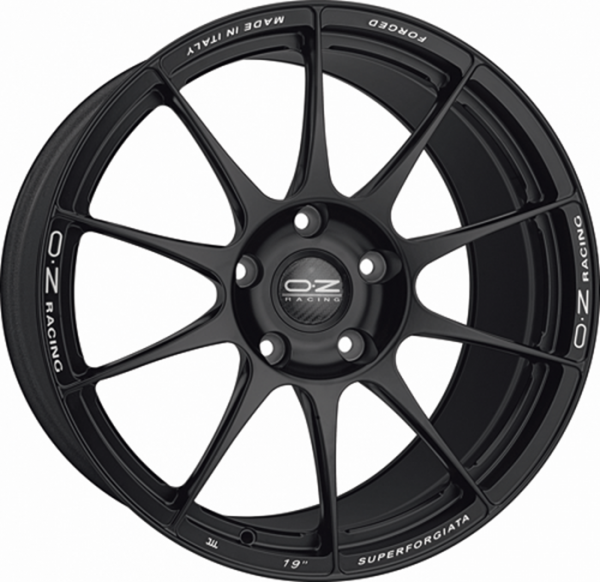 SUPERFORGIATA MATT BLACK Wheel 11x19 - 19 inch 5x130 bold circle