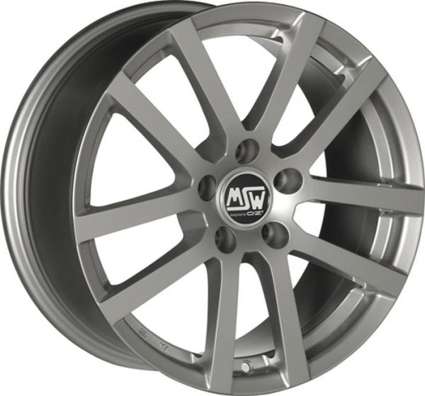MSW 22 GREY SILVER Wheel 6,5x16 - 16 inch 5x100 bold circle