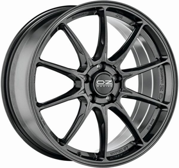 HYPER GT STAR GRAPHITE Wheel 8x18 - 18 inch 5x100 bold circle