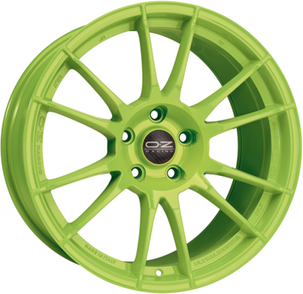 ULTRALEGGERA HLT ACID GREEN Wheel 11x19 - 19 inch 5x108 bold circle