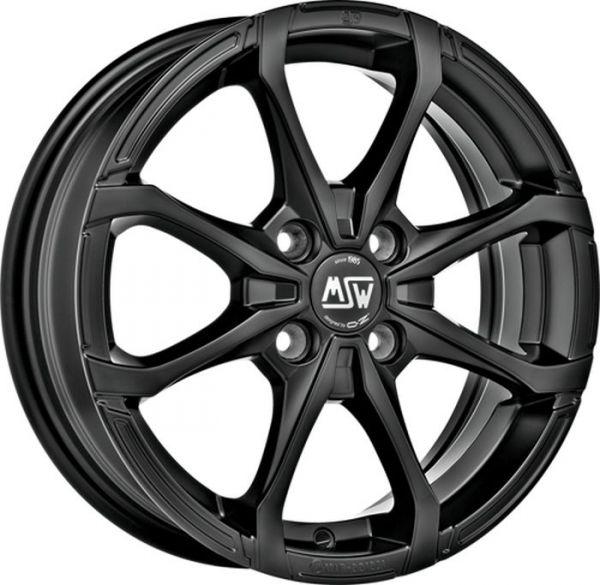 MSW X4 MATT BLACK Wheel 5,5x14 - 14 inch 4x108 bold circle