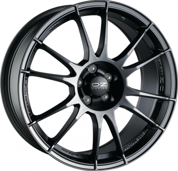 ULTRALEGGERA MATT BLACK Wheel 7x15 - 15 inch 4x108 bold circle