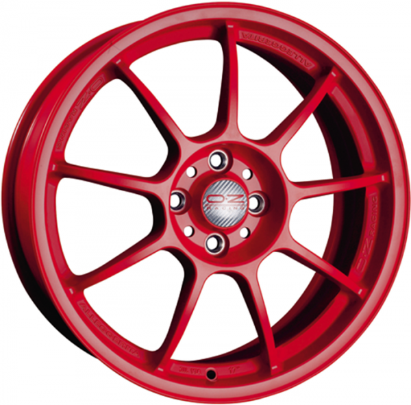 ALLEGGERITA HLT RED Wheel 9x18 - 18 inch 5x130 bold circle