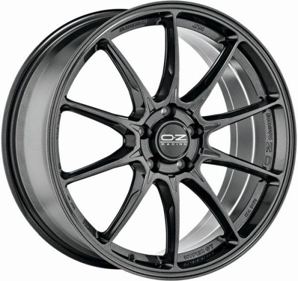 HYPER GT STAR GRAPHITE Wheel 8x18 - 18 inch 5x114.3 bold circle