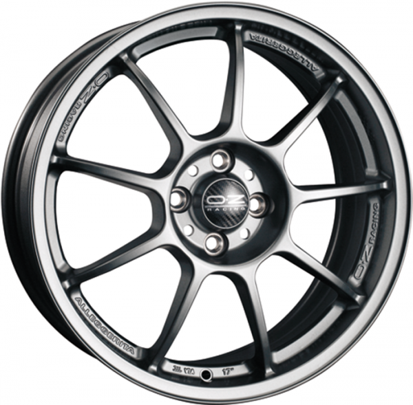 ALLEGGERITA HLT MATT GRAPHITE Wheel 10x18 - 18 inch 5x120.65 bold circle