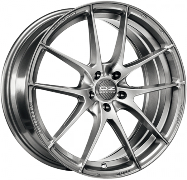 LEGGERA HLT GRIGIO CORSA BRIGHT Wheel 8x17 - 17 inch 5x100 bold circle