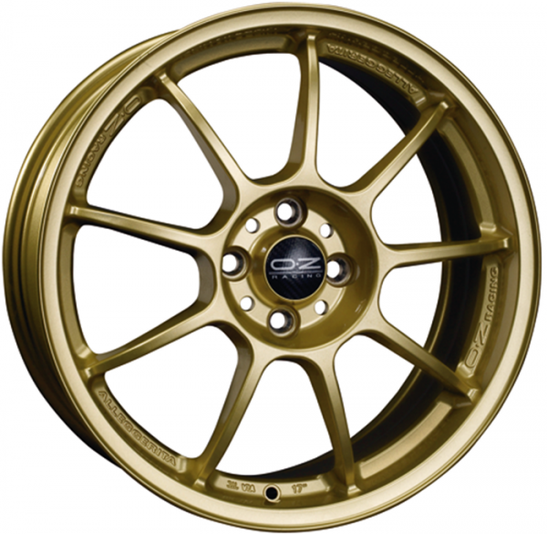 ALLEGGERITA HLT RACE GOLD Wheel 7.5x17 - 17 inch 5x100 bold circle