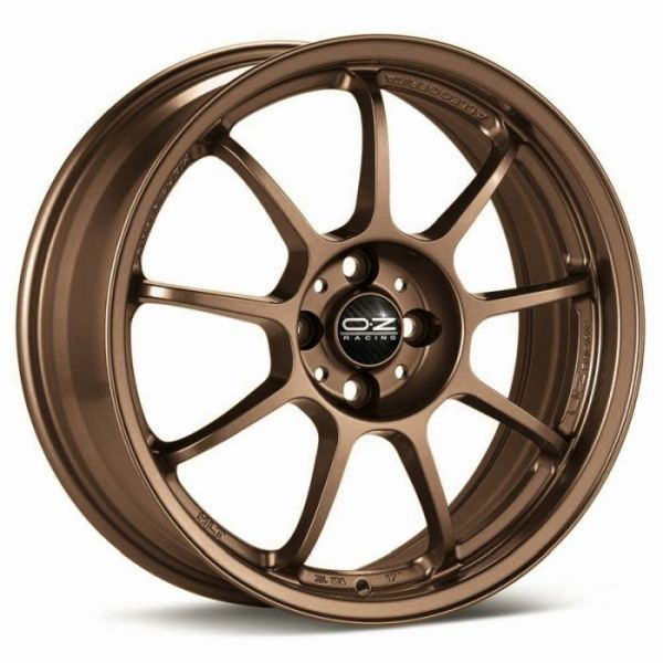 ALLEGGERITA HLT MATT BRONZE Wheel 10x18 - 18 inch 5x120,65 bold circle