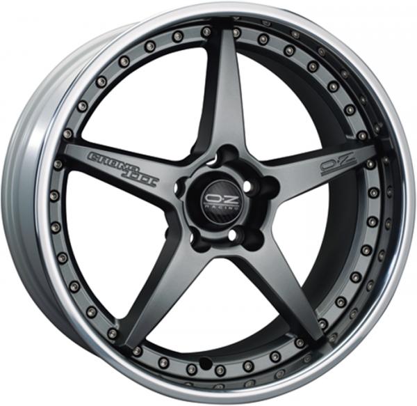 CRONO III MATT GRAPHITE Wheel 9x19 - 19 inch 5x112 bold circle