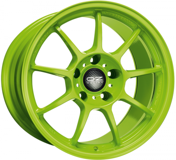ALLEGGERITA HLT ACID GREEN Wheel 11x18 - 18 inch 5x120.65 bold circle