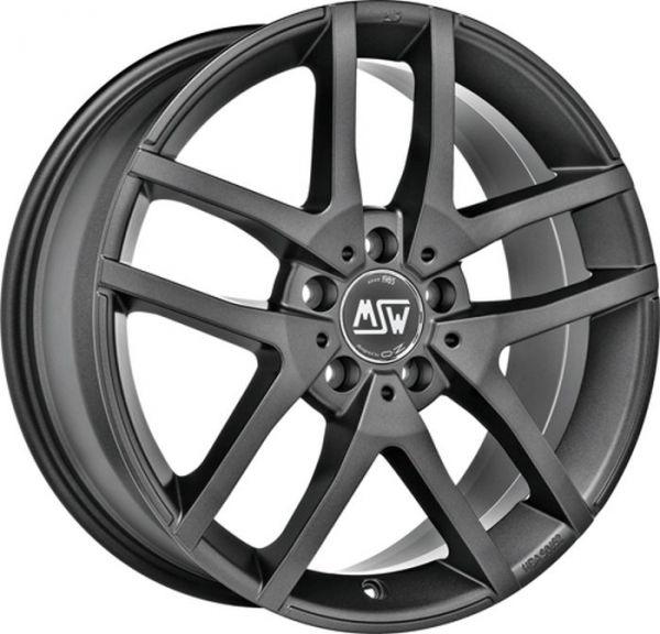 MSW 28 MATT DARK GREY Wheel 6,5x16 - 16 inch 5x114,3 bold circle