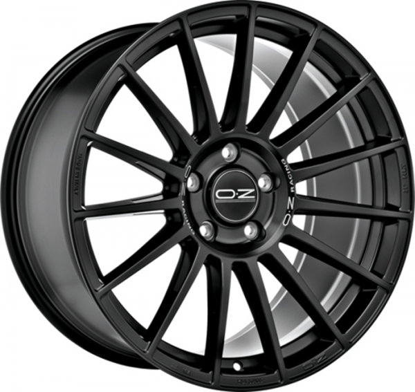 SUPERTURISMO DAKAR MATT BLACK + S LET Wheel 8.5x20 - 20 inch 5x108 bold circle