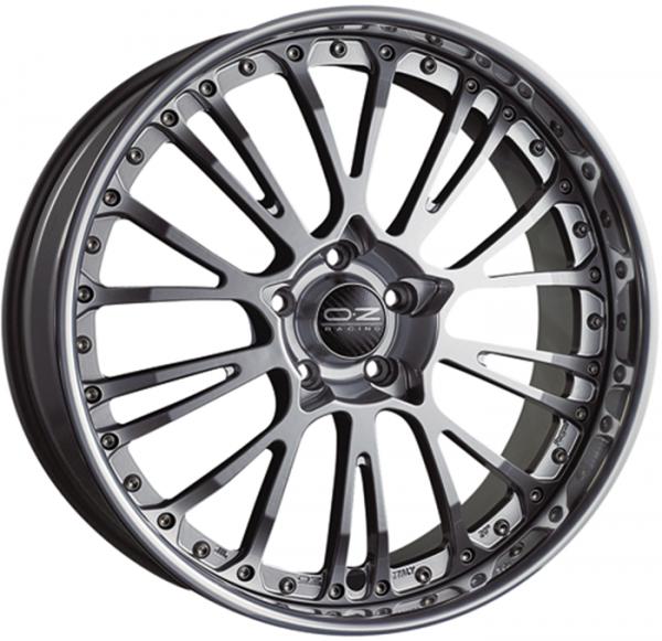 BOTTICELLI III CRYSTAL TITANIUM Wheel 8x19 - 19 inch 5x114.3 bold circle