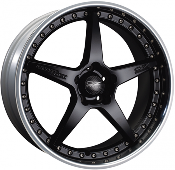 CRONO III MATT BLACK Wheel 9.5x19 - 19 inch 5x130 bold circle