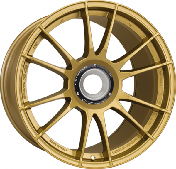 OZ ULTRALEGGERA HLT CL RACE GOLD Felge 11x20 - 20 Zoll ZV Lochkreis