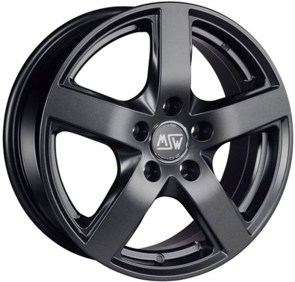 MSW 55 MATT DARK GREY Wheel 6,5x16 - 16 inch 5x110 bold circle