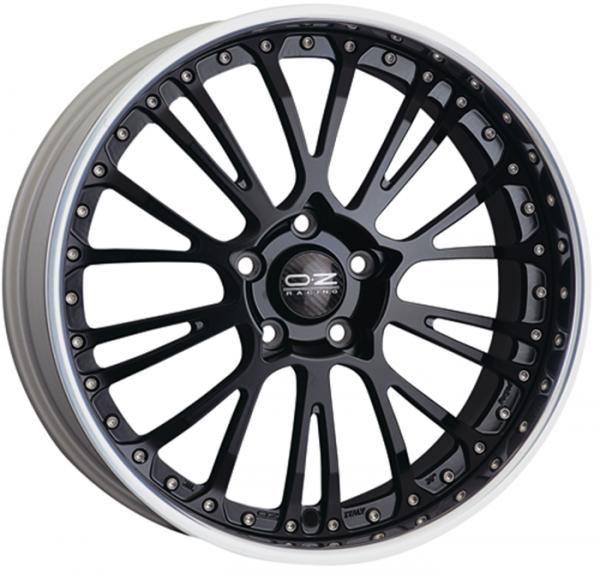 BOTTICELLI III MATT BLACK Wheel 9x21 - 21 inch 5x108 bold circle