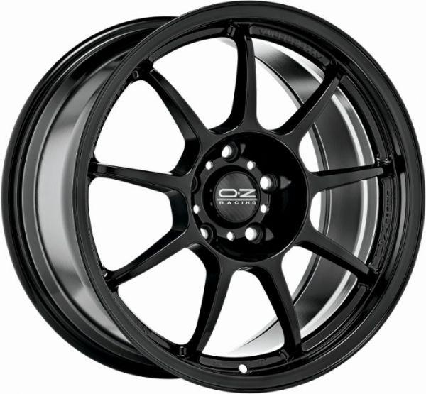 ALLEGGERITA HLT GLOSS BLACK Wheel 9,5x18 - 18 inch 5x120 bold circle