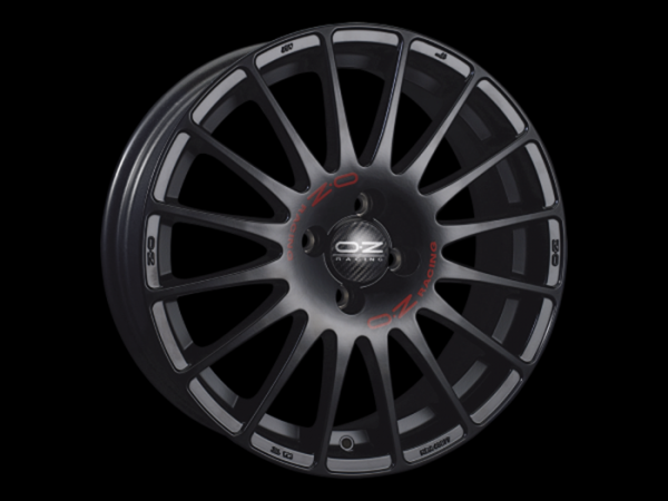 OZ SUPERTURISMO GT matt schwarz Felge 7x18 - 18 Zoll 4x100 Lochkreis