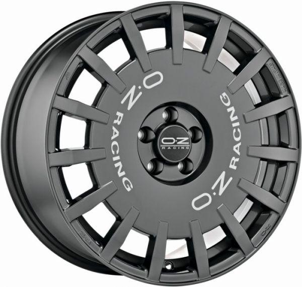 RALLY RACING DARK GRAPH. S. LETT. Wheel 7,5x18 - 18 inch 5x100 bold circle