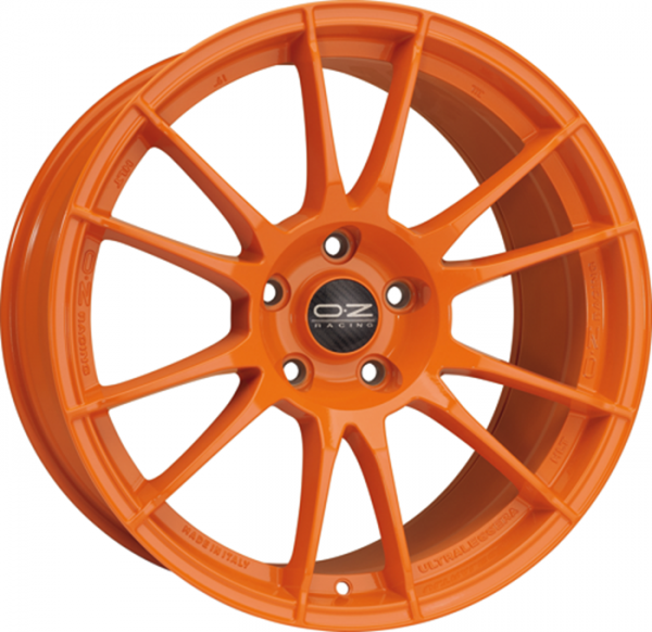OZ ULTRALEGGERA HLT orange Felge 8x19 - 19 Zoll 5x112 Lochkreis