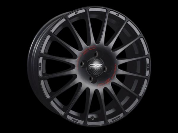 OZ SUPERTURISMO GT matt schwarz Felge 7x16 - 16 Zoll 4x100 Lochkreis