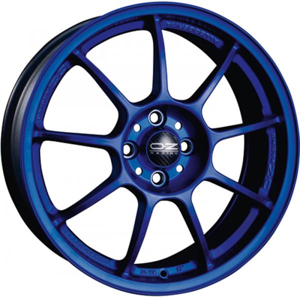 OZ ALLEGGERITA HLT matt blau Felge 8x17 - 17 Zoll 5x110 Lochkreis