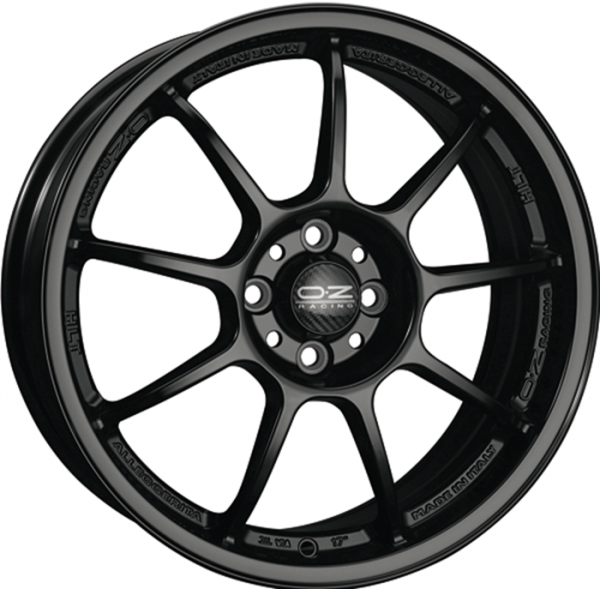ALLEGGERITA HLT MATT BLACK Wheel 9x18 - 18 inch 5x120 bold circle