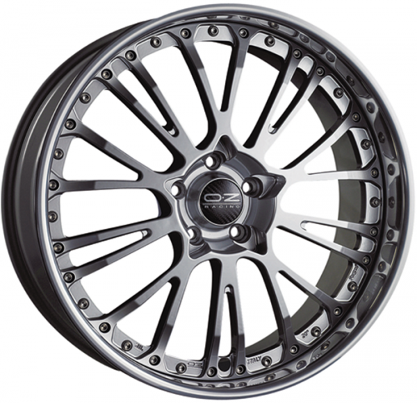 BOTTICELLI III CRYSTAL TITANIUM Wheel 10.5x20 - 20 inch 5x120 bold circle