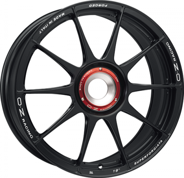 SUPERFORGIATA CL MATT BLACK Wheel 9x20 - 20 inch ZV bold circle