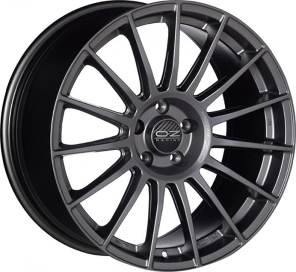 SUPERTURISMO LM MATT BLACK+SILVER LETTERING Wheel 8.5x19 - 19 inch 5x112 bold circle