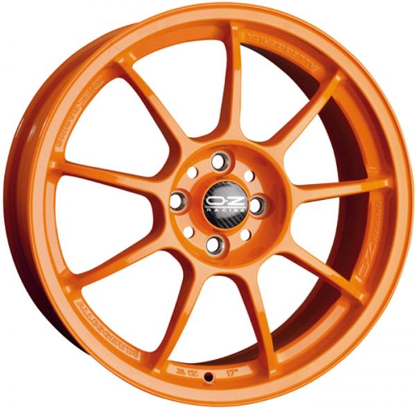 OZ ALLEGGERITA HLT orange Felge 8x18 - 18 Zoll 5x114.3 Lochkreis