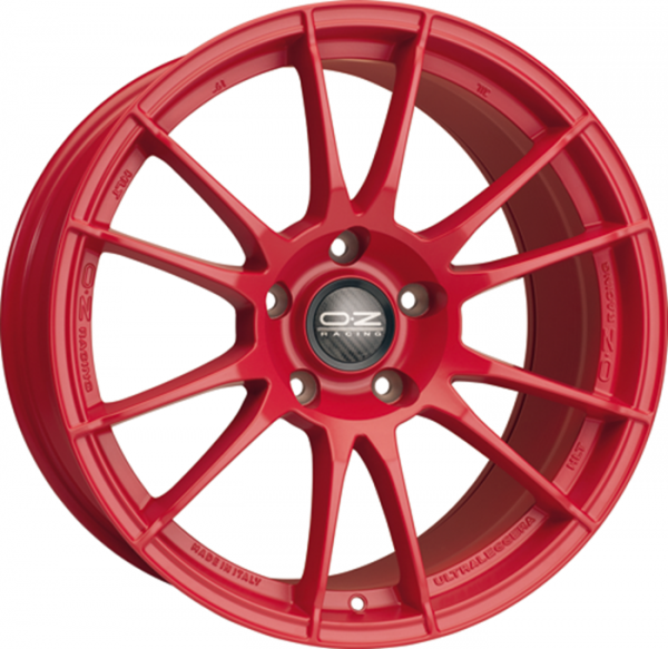 ULTRALEGGERA HLT RED Wheel 9x19 - 19 inch 5x120 bold circle