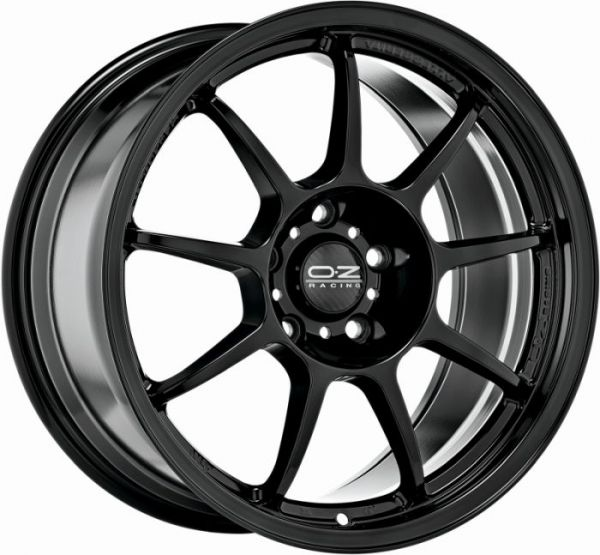 ALLEGGERITA HLT GLOSS BLACK Wheel 8,5x18 - 18 inch 5x120,65 bold circle