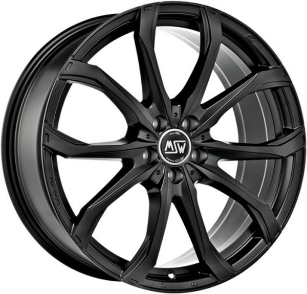 MSW 48 MATT BLACK Wheel 7,5x17 - 17 inch 5x120 bold circle